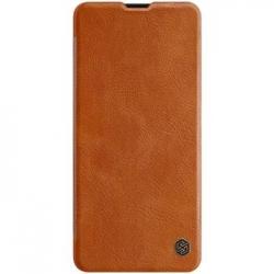 Nillkin Qin Book Pouzdro pro Samsung Galaxy A51 Brown