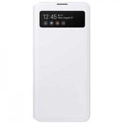 EF-EA715PWE Samsung S-View Pouzdro pro Galaxy A71 White (EU Blister)