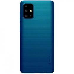 Nillkin Super Frosted Zadní Kryt pro Samsung Galaxy A71 Blue
