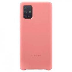 EF-PA715TPE Samsung Silikonový Kryt pro Galaxy A71 Pink (EU Blister)
