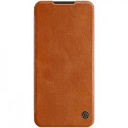 Nillkin Qin Book Pouzdro pro Xiaomi Redmi Note 8T Brown