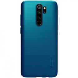 Nillkin Super Frosted Zadní Kryt pro Xiaomi Redmi Note 8 Pro Peacock Blue
