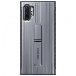 Kryt na mobil Samsung Standing Cover na Galaxy Note10 Plus(EF-RN975CSEGWW) strieborný