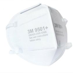 Respirátor 3M 9501+ s ochranou FFP2 - 10KS