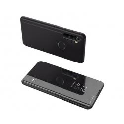 MG Clear View knižkové púzdro na Xiaomi Redmi Note 8T - čierne