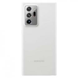 SAMSUNG Silikónový zadný kryt Note 20 Ultra White EF-PN985TWEGEU