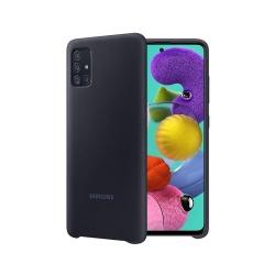 EF-PA515TBE Samsung Silikonový Kryta pro Galaxy A51 Black (EU Blister)