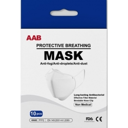 AAB Respirátor - Maska FFP2 / KN95 Počet kusov: 10ks v balení