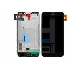 LCD Displej + Dotyková plocha + rám -Nokia Lumia 630,635