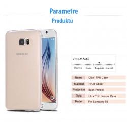 Samsung Galaxy S6 - Tenké silikónové púzdro