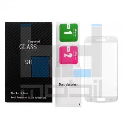 Samsung Galaxy S6 Edge - Zahnuté ochranné sklo