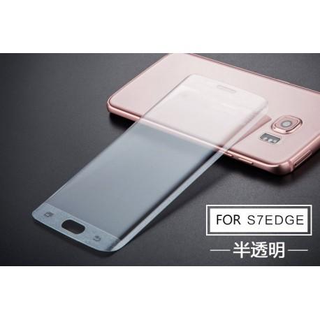 Samsung Galaxy S7 Edge - Zahnuté ochranné sklo