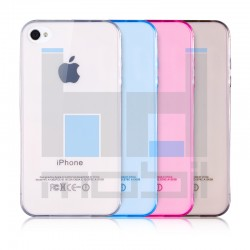 Apple iPhone 4/4S - Tenké silikónové púzdro