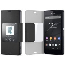 SCR26 Sony Smart Cover Black pro D5803 Xperia Z3compact