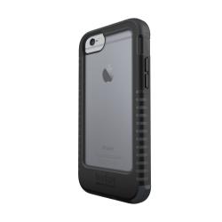 360 ° ochranný kryt Tech21 Patriot pre Apple iPhone 6/6S, odnímateľný klip na opasok, čierny