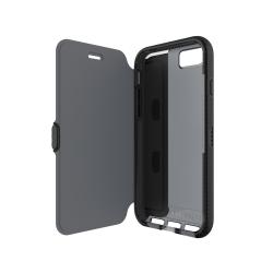 Puzdro typu kniha Tech21 Evo Wallet pre Apple iPhone 7, dymové