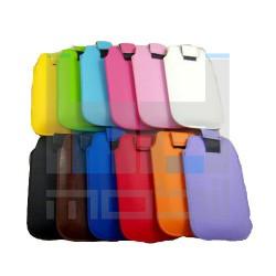 Apple Iphone 4/4s Farebné Kožené Púzdra