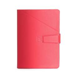 """Univerzálne púzdro TUCANO PIEGO SMALL pre tablety 7"""", X-Fit systém, červené"""
