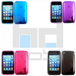 Apple iPhone 3G / 3GS - Silikónové Púzdro