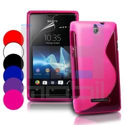 Sony Xperia E - C1505 - Farebné Silikónové Púzdra