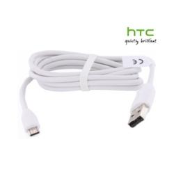 DC M410 HTC datový kabel microUSB White (Bulk)