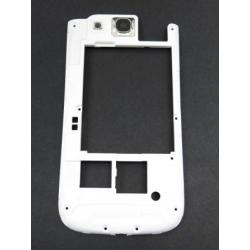 Samsung i9300 Ceramic White Střední Díl