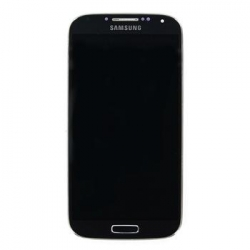 LCD display + Dotyk + Přední kryt Samsung i9505 Galaxy S4 Black (Service Pack)