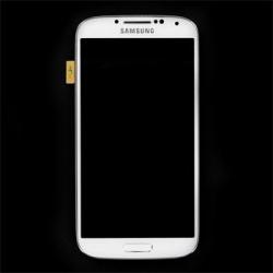 LCD display + Dotyk + Přední kryt Samsung i9505 Galaxy S4 White (Service Pack)