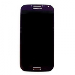 LCD display + Dotyk + Přední kryt Samsung i9505 Galaxy S4 Purple (Service Pack)