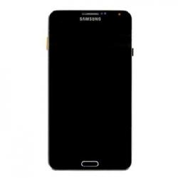 LCD display + Dotyk + Přední kryt Samsung N9005 Galaxy Note3 Black (Service Pack)