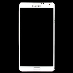 LCD display + Dotyk + Přední kryt Samsung N9005 Galaxy Note3 White (Service Pack)