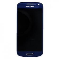 LCD display + Dotyk + Přední kryt Samsung i9195 Galaxy S4mini Blue (Service Pack)