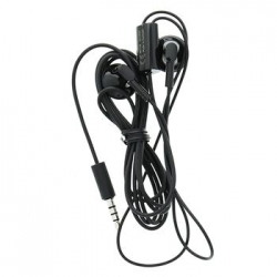 WH-109 Nokia Stereo 3,5mm Headset Black (Bulk) (06940Z0)