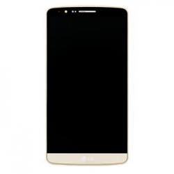 LG D855 G3 LCD Display + Dotyková Deska + Přední Kryt Gold
