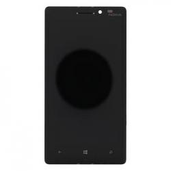 LCD Display + Dotyková Deska + Přední Kryt Black pro Nokia 930 Lumia