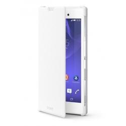 SCR16 Sony Style Folio Pouzdro White pro Xperia D5103 T3 (EU Blister)