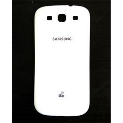 Samsung i9300 Ceramic White Kryt Baterie LTE Branding
