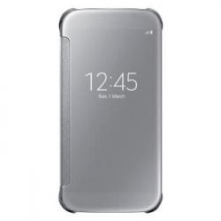 EF-ZG920BSE Samsung Clear View Pouzdro Silver pro G920 Galaxy S6 (EU Blister)