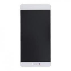Huawei  P8 LCD Display + Dotyková Deska + Přední Kryt White