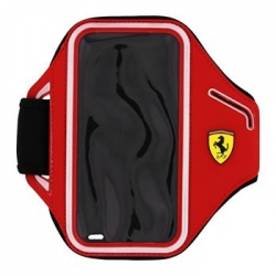 FESCABP6RE Ferrari Neoprene Armband Red pro iPhone 6/6s