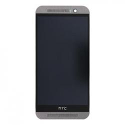 LCD Display + Dotyková Deska + Přední Kryt GunMetal Gray pro HTC M9
