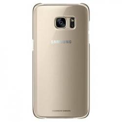 EF-QG930CFE Samsung Zadní Kryt Clear Gold pro G930 Galaxy S7 (EU Blister)