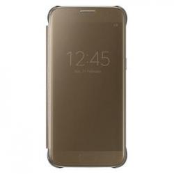 EF-ZG930CFE Samsung Clear View Pouzdro Gold pro G930 Galaxy S7 (EU Blister)