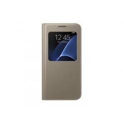 EF-CG930PFE Samsung S-View Pouzdro Gold pro G930 Galaxy S7 (EU Blister)