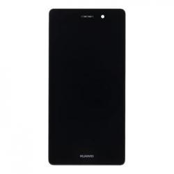 Huawei  P8 Lite LCD Display + Dotyková Deska + Přední Kryt Black