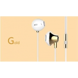USAMS Ejoy Stereo Headset 3,5mm Gold