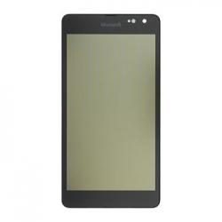 LCD Display + Dotyková Deska +  Přední Kryt Black pro Nokia Lumia 535