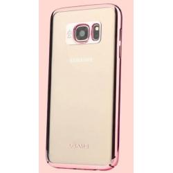 USAMS Kingsir Ochranný Zadní Kryt Rose Gold pro Samsung G930 Galaxy S7