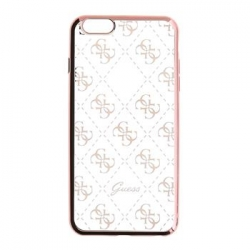 GUHCP6TR4GRG Guess 4G TPU Pouzdro Rose Gold pro iPhone 6/6S