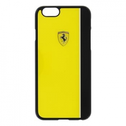 FEBKSHCPSEYE Ferrari Scuderia Hard Case Yellow/Black pro iPhone 5S/SE